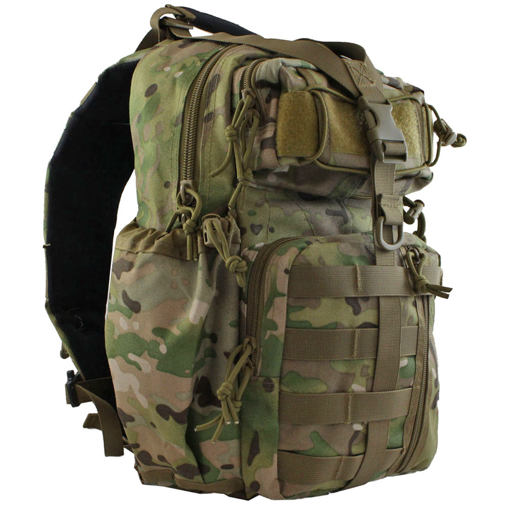 5b3ac2b52cea Camouflage Sling Backpack- Fenix Toulouse Handball