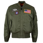 Alpha Ma-1 Flex Core Fit Jacket