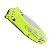 Benchmade Combo Edge Yellow Handle Dive Folding Knife