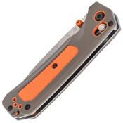 Grizzly 15061 Satin Finish Blade Folding Knife