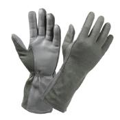 Nomex Flight Black Gloves