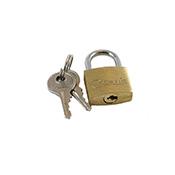Coghlans 8820 Brass 20Mm Padlock