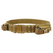 Condor Adjustable Tactical Belt with Magazine Pouch