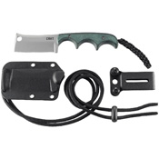 CRKT Minimalist Cleaver 5Cr15MoV Steel Blade Fixed Knife