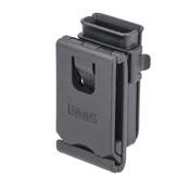 Single Magazine Pouch - Black - Fits 9mm/.40/.45 Caliber