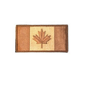 Canada 3 x 1 3/4 Inch Patch Iron On - Wholesale