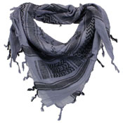 Shemagh Airsoft Scarf with Skull Print