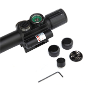 4x25 M6 Tactical Rifle Scope with Laser Sight