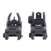 Flip-Up Front and Rear Sight Set