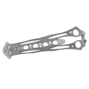 Balisong Trainer Knife - Gray