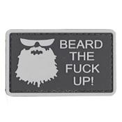 Beard The F Up PVC Patch