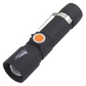 USB Zoom Charging Flashlight