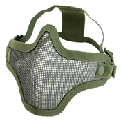 Gear Stock Half-Face Mesh Airsoft Mask