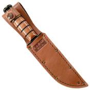 Ka-Bar Leather Sheath for 5.25 Inch Long Blade