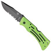 Mule Zytel Handle Folding Knife w/ Sheath