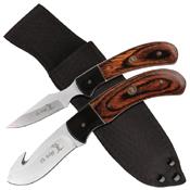 Elk Ridge 250WD Hunting Knife 2 Pcs Set w/ Sheath