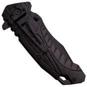 MTech USA A954 Plain Edge Folding Blade Knife