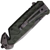 MTech USA Xtreme A841 Ballistic Knife - Stonewash