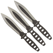 Master Cutlery Perfect Point RC-136-3 Throwing Knife Set