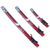 Master Cutlery SW-84RD-4 Samurai Sword Set