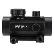 Matrix 1x30 Military Style Illuminated Red/Green Dot Sight - Wholesale
