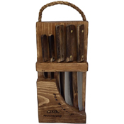 OKC Old Hickory Knife Block Set