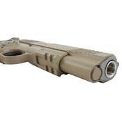 Colt 1911 Rail CO2 Pistol (Desert Tan)