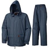 Pioneer Polyester Rainwear Suit Navy