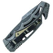 Smith and Wesson Border Guard Tanto Blade 4.3 Inch Folding Knife