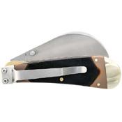 SchradeOld Timer Liner Lock Hawkbill Pruner Pocket Folding Knife