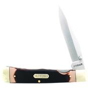 Schrade Old Timer Clip Point Liner Lock Sawcut Folding Knife