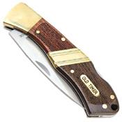 Schrade Old Timer Lockback 4.5 Inch Pocket Folding Knife