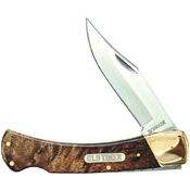 Schrade 5 Inches Golden Bear with Desert Iron Wood Handle