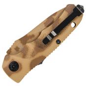 Schrade SC60MD Mini Desert Camo Blade Folding Knife