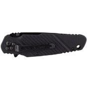 Schrade G10 Titanium Coated Black Tanto Blade Folding Knife
