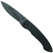 Schrade Liner Lock Ceramic 2.92 Inch Blade TPR Handle Folding Knife