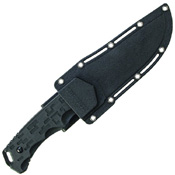 Schrade Compact Clip Point TPE Handle Fixed Blade Knife