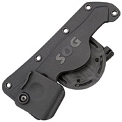 SOG HDN-F06 Molded Hard Black Nylon Sheath for F06 FastHawk