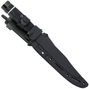 SOG Black TiNi Tech Bowie Knife
