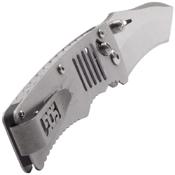 Targa Stainless Steel Handle Folding Blade Knife