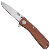 Twitch II Plain Edge Folding Blade Knife
