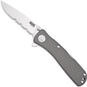 Sog Twitch Folding Knife - Half Serrated Edge