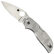 Chaparral Titanium Handle Folding Blade Knife