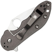 Dice Plain Edge Folding Blade Knife