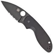 Spyderco Efficient 8Cr13MoV Steel Blade Folding Knife