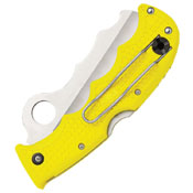 Assist Salt FRN Handle Folding Knife - Yellow