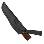 Spyderco Puukko Ironwood Plain Edge With Leather Sheath Fixed Blade Knife - Wholesale