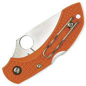 Spyderco Ladybug 3 Key Ring Burnt Orange Knife - Wholesale