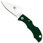 Ladybug 3 British Racing Green FRN Handle Folding Knife