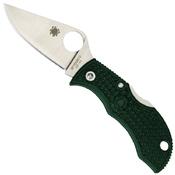 Spyderco ManBug ZDP-189 Steel Plain Edge Folding Knife